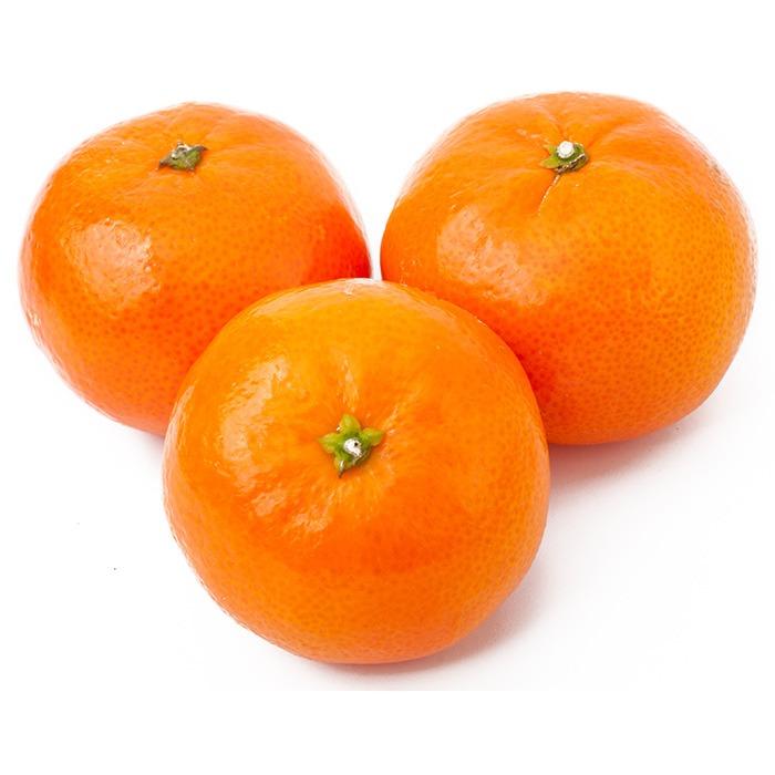 Mandarina jugosa y dulce.