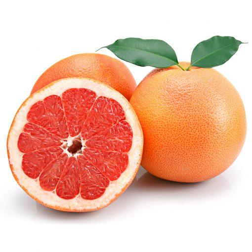 Pomelo rojo. Gran antioxidante. Un zumo por las mañanas te ayuda a fortalecer las defensas.